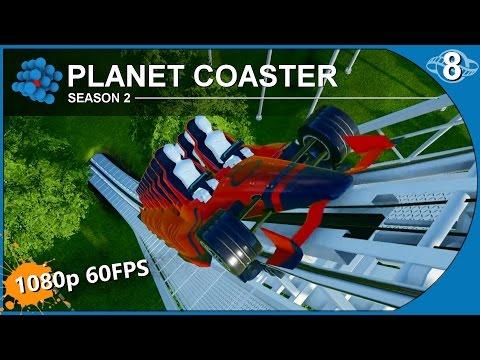 Planet Coaster Alpha 2.3 - S02E08 - Launch Coaster