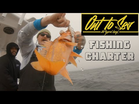 Fishing Charter With Out To Sea Monterey California | ITGETSREEL Episode 22