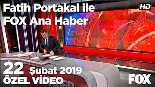 Erdoğan'dan Muğla'da sert mesajlar! 22 Şubat 2019 Fatih Portakal ile FOX Ana Haber