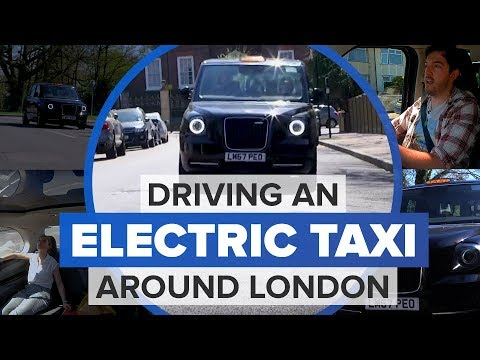 My day as a cabbie in the London taxi of tomorrow