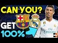 How Well Do You Know El Clasico? Real Madrid & Barcelona Football Quiz