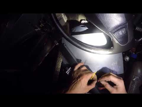 INSTALLING DASH LIGHTS ON THE TOW TRUCK