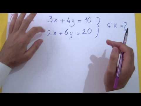 1. Dereceden Denklemler 2 Şenol Hoca Matematik