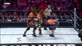John Cena vs. Triple H vs. Shawn Michaels - WWE Championship Match: Survivor Series 2009