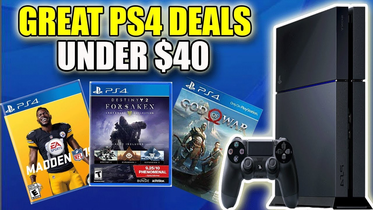 10 Awesome Ps4 Game Deals Under 40 Best Playstation 4