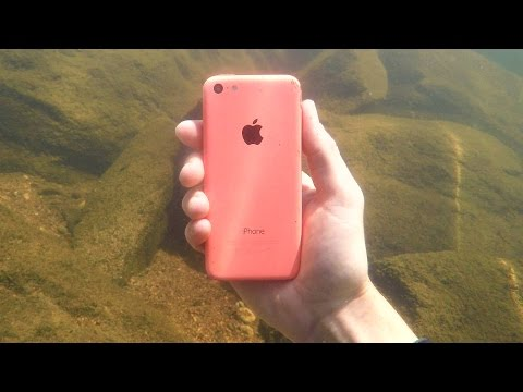 Thumbnail: Found Lost iPhone, Fishing Pole and Swimbaits Underwater in River! (Scuba Diving)