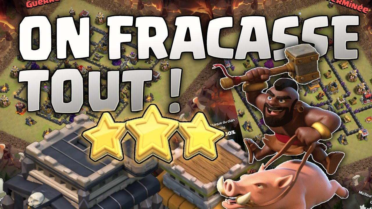 On retrouve nos cochons qui fracassent tout ! Clash of Clans