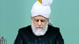 Sindhi Friday Sermon 14 Jan 2011, Holy Prophet's(saw) attribute of forgiveness