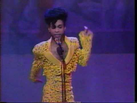 Prince at MTV Video Music Awards VMA 1991