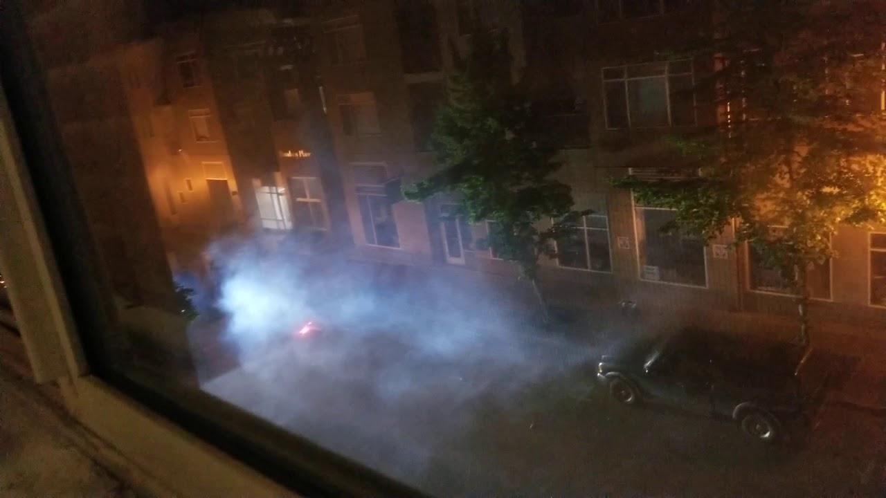 Eugene Police Tear-Gasses Downtown