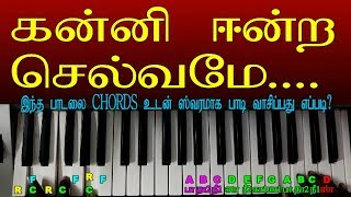 TAMIL CHRISTMAS SONGS KEYBOARD NOTES WITH CHORDS