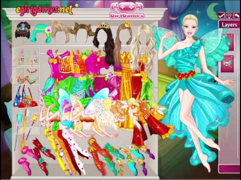 Barbie Tooth Fairy Dress Up- Disney Princess * babie game for girls*