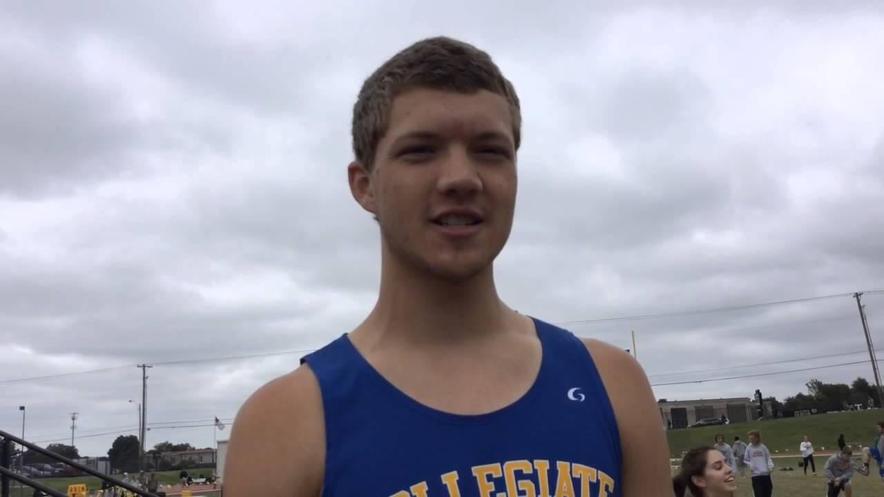 Collegiate s Jacob Newlin talks about winning the Class 3A high