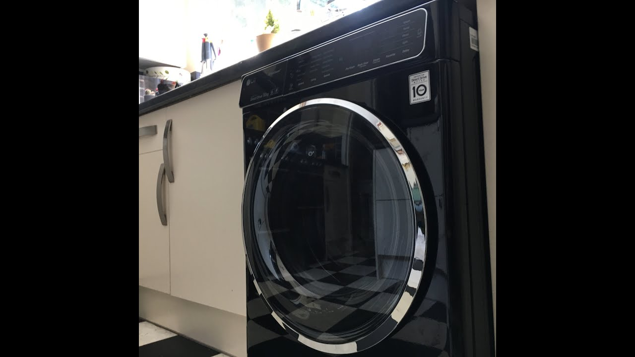 lg direct drive truesteam washing machine review youtube. Black Bedroom Furniture Sets. Home Design Ideas