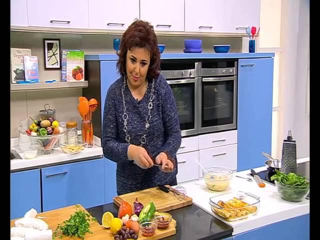 كانيلونى بحشو الجبنة القريش - مكرونة بالجبنة الماعز : عيش وملح حلقة كاملة