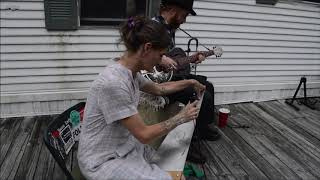 untitled song with musical saw - Chris Rodrigues & Abby the Spoon Lady