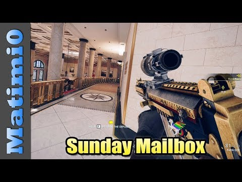 Well Done Siege - Sunday Mailbox - Rainbow Six Siege