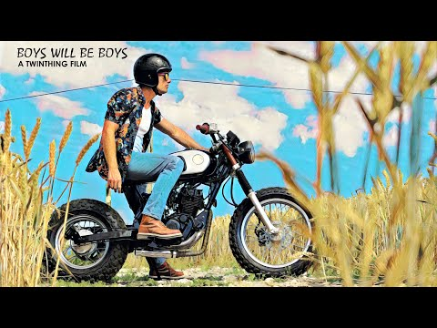 'BOYS WILL BE BOYS' Custom Yamaha TW 125 By Twinthing Custom Motorcycles