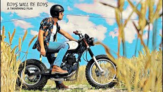 'BOYS WILL BE BOYS' Custom Yamaha TW 125 by Twinthing Custom Motorcycles