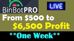 NEW BINBOT PRO REVIEW - $500 Deposit into $6000 Profit (LIVE TRADING)