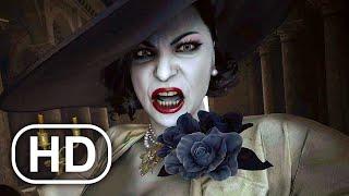 Resident Evil 8 Village All Lady Dimitrescu Cutscenes 4k Ultra