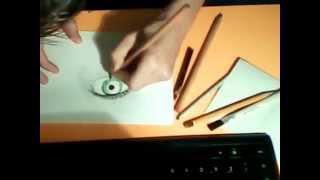 primo disegno con i colori a tempera e con le penne colorate