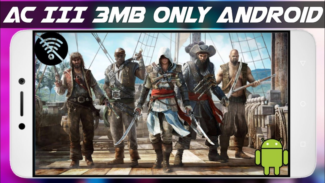 3mb How To Download Assassin S Creed 3 For Android Youtube
