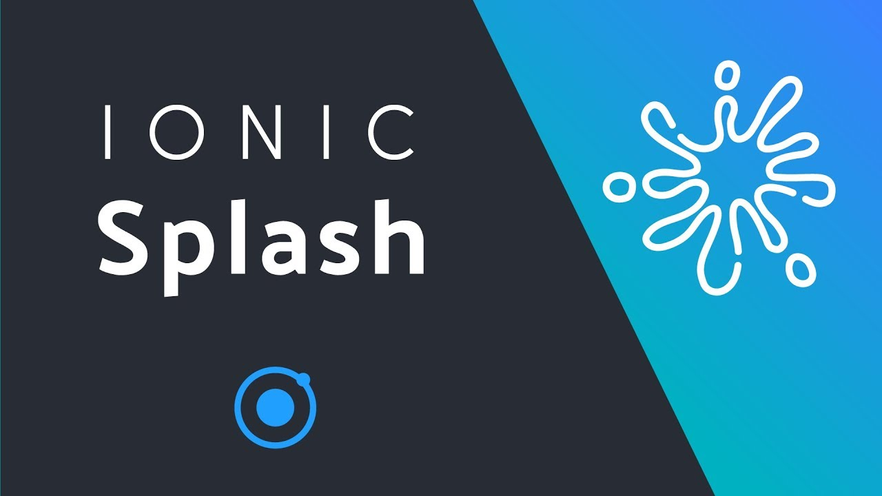 Custom Ionic Splash + Animation
