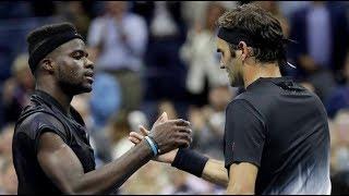 Federer vs Tiafoe - US Open 2017 - Top 10 Best Points + Match Point