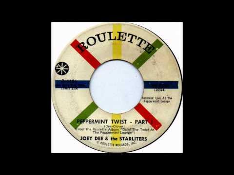 Shout (part 1 & part 2)-Joey Dee & Starliters-'1961 -45-Roulette  R-4401