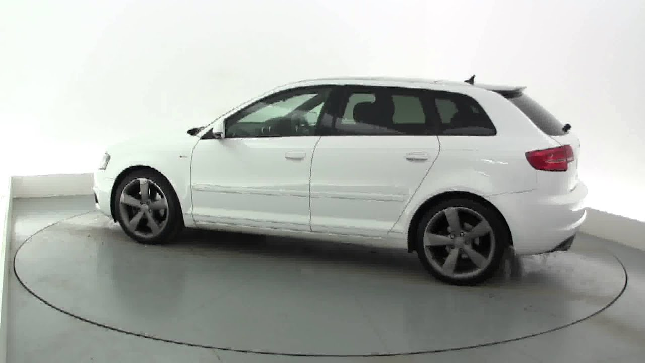 2010 audi a3 sportback tdi s line se youtube. Black Bedroom Furniture Sets. Home Design Ideas