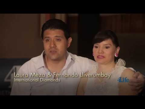 4Life® Distributor Success:  Laura Meza & Fernando Lliverumbay