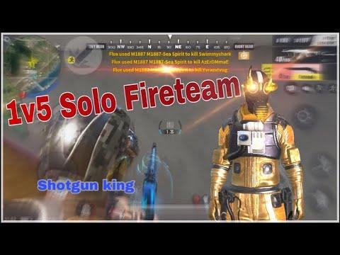 Ros Kill Montage #3 | 1v5 Solo Fireteam (Mobile)