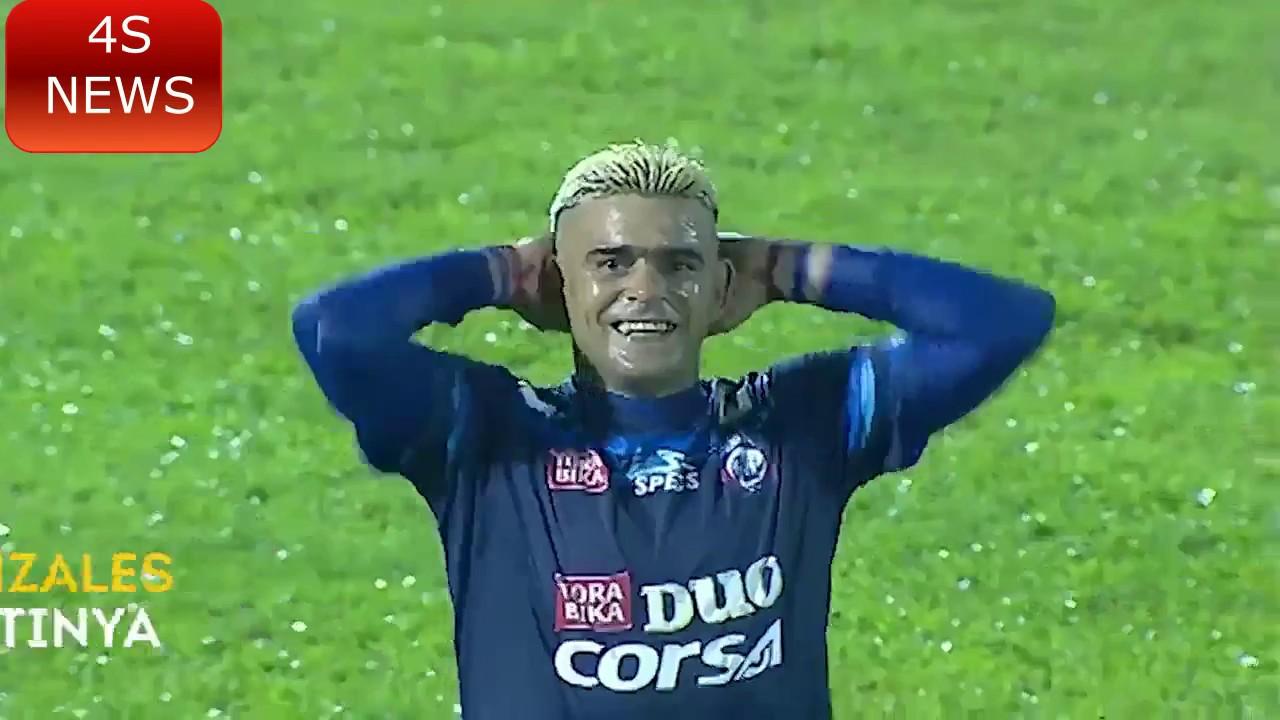 8 Gol Manis Cristian Gonzales di Piala Presiden 2017