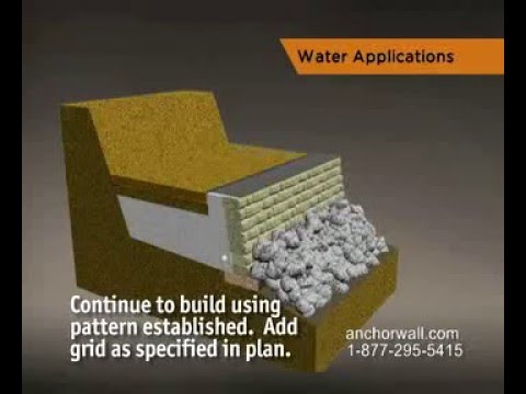How To Build A Retaining Wall For Water Retention