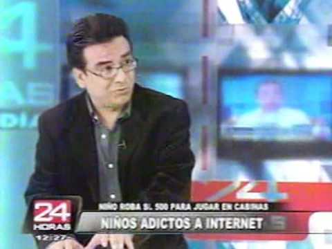 Niños adictos al Internet - 24 Horas Panamericana TV