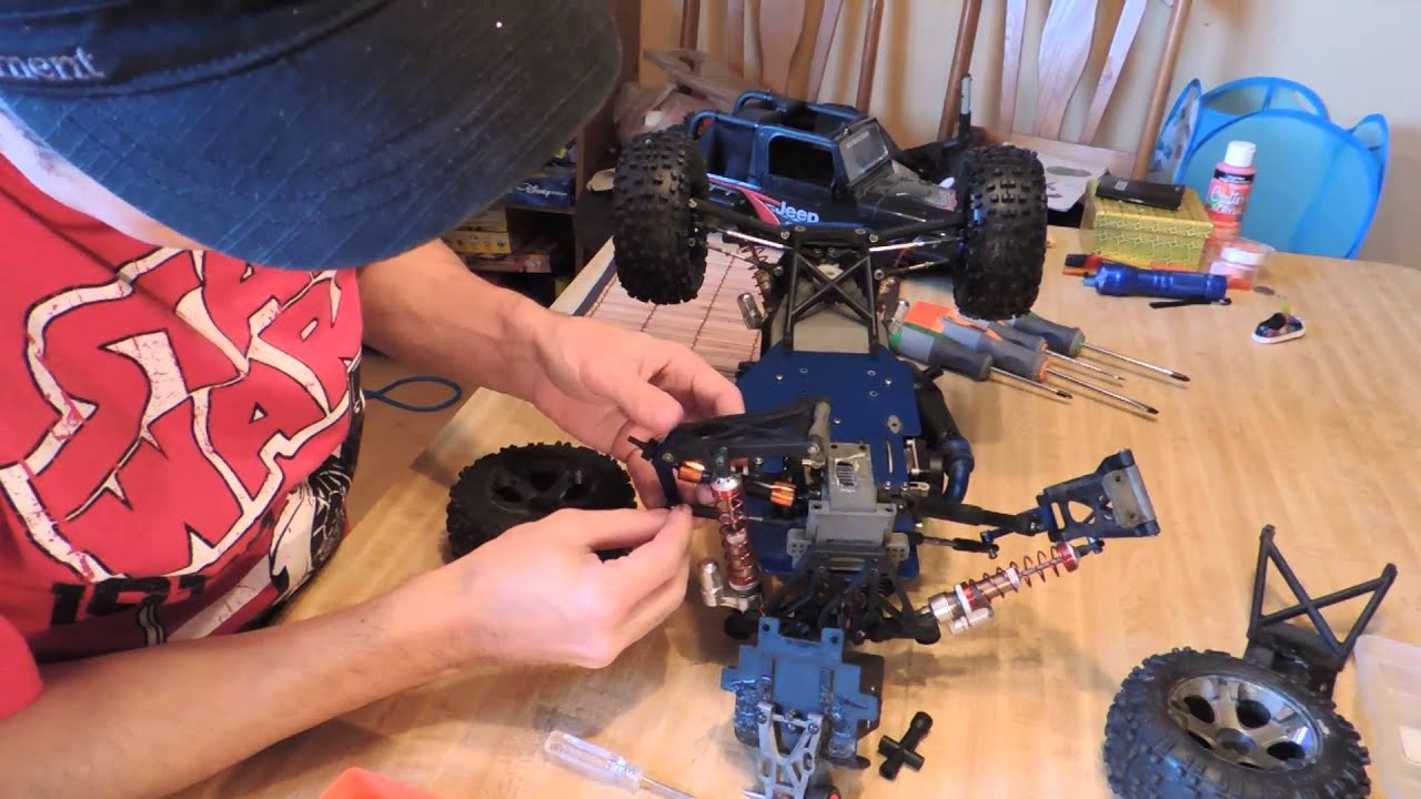 Installing Upgraded Drive shaft Integy on a Traxxas Stampede