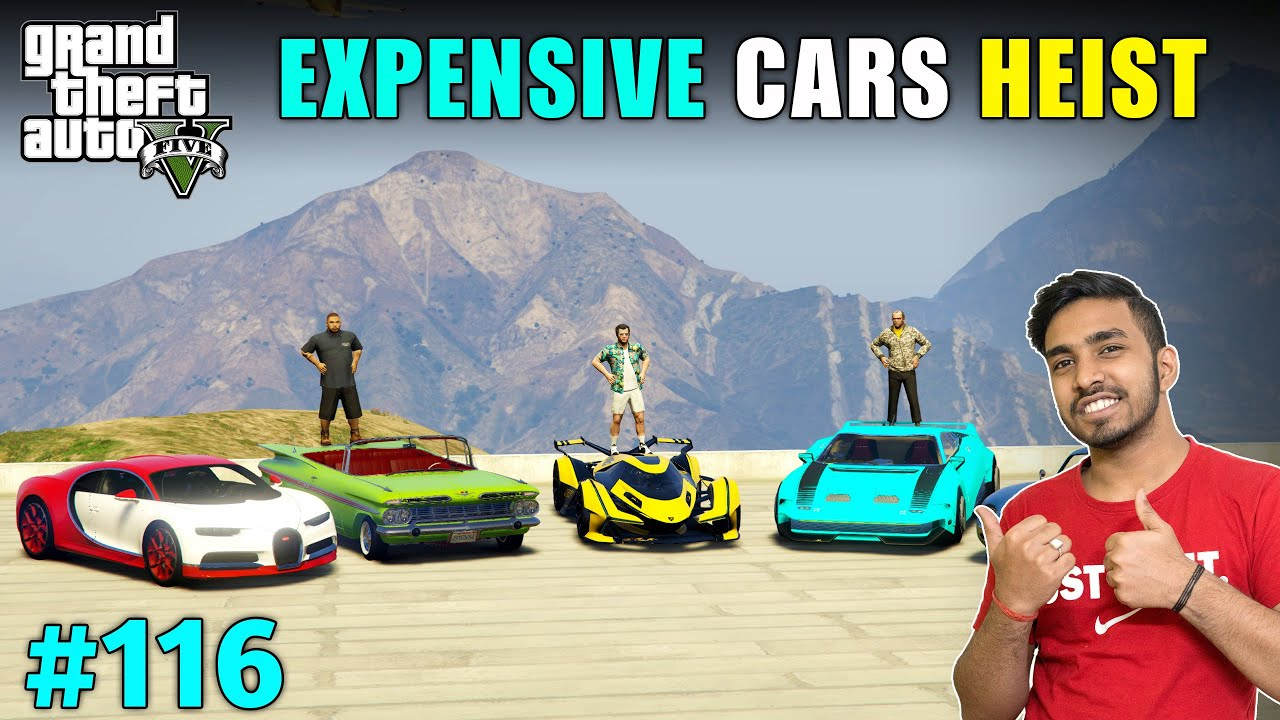 Download STEALING 5 MOST EXPENSIVE CARS | GTA V GAMEPLAY #116
