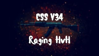 Raging And Owning Noobs In HvH Server Pure Ownage Css V34