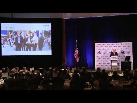 CUNY TV Presents ABNY: William J. Bratton, Police Commissioner, City of New York