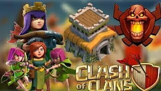 Diseño Perfecto Para Subida De Copas De Th8 - 2018 [Clash Of Clans]