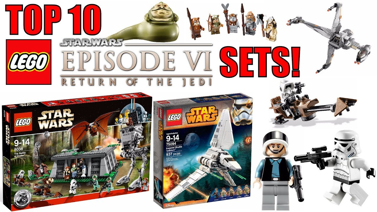 90d5192e8cba Top 10 BEST LEGO Star Wars Episode 6 Sets! Return Of The Jedi! - YouTube