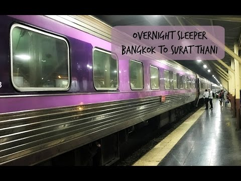 Bangkok to Surat Thani Sleeper Train