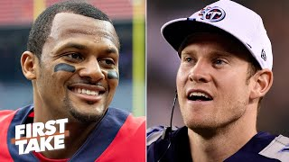 Texans or Titans: Which team will win the AFC South? | First Take