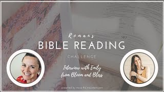Bible Reading Challenge Interview - Emily Carpenter from Bloom and Bless
