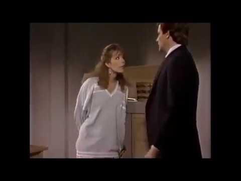 9.e. 1987 Santa Barbara - Mason and Julia - NEW SCENES Mason helps her with a case