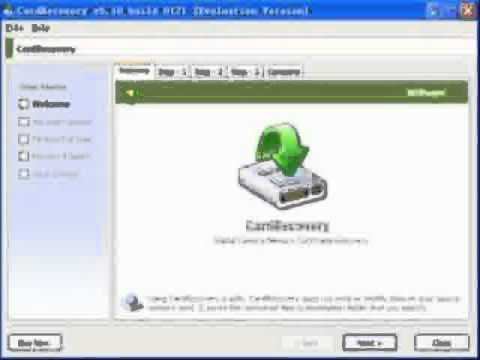 Memory Card Recovery Software FREE Download
