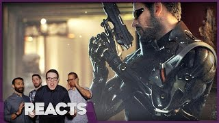 We Played Deus Ex: Mankind Divided and Deus Ex Go! - Kinda Funny Plays E3 2016