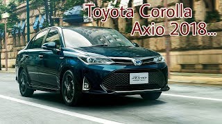 Toyota Corolla Axio hybrid Full review    Auto Car.