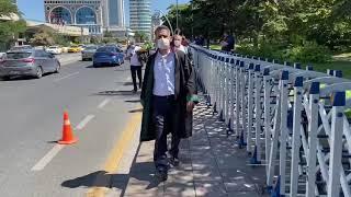 Başkan Abdurrahim Burak Meclis'e yürüdü